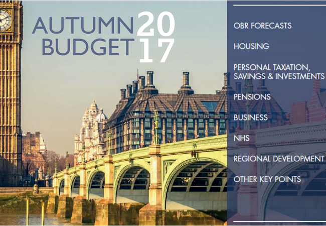 Autumn Budget 2017 – The Key Points