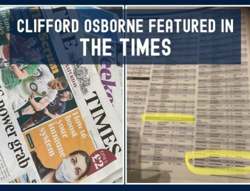 Clifford Osborne Featured in The Times