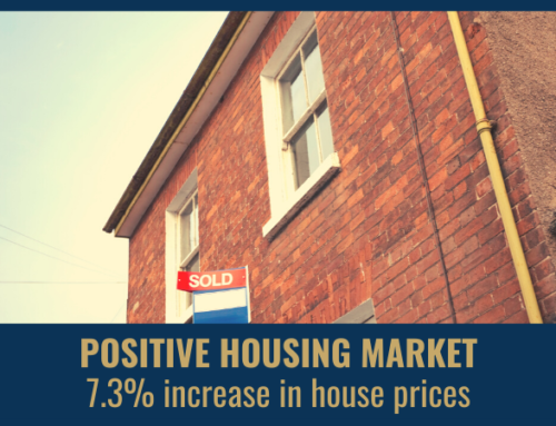 Positive Housing Market – 7.3% increase in House Prices